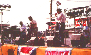 Opening Act at Raleigh's State Fairgrounds for The 4th of July