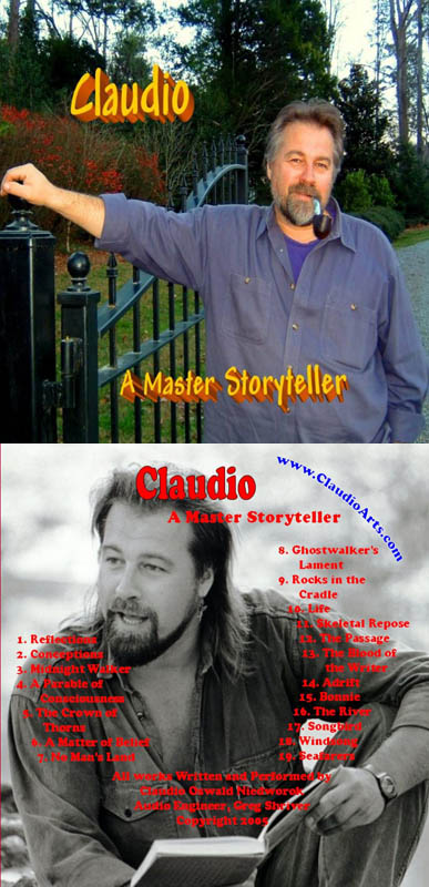 CD Master Storyteller by claudio oswald niedworok