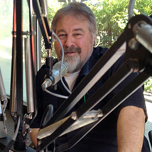 Claudio Oswald Niedworok at WCOM Radio Carrboro