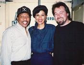 Billy Davis, Marilyn McCoo and Claudio